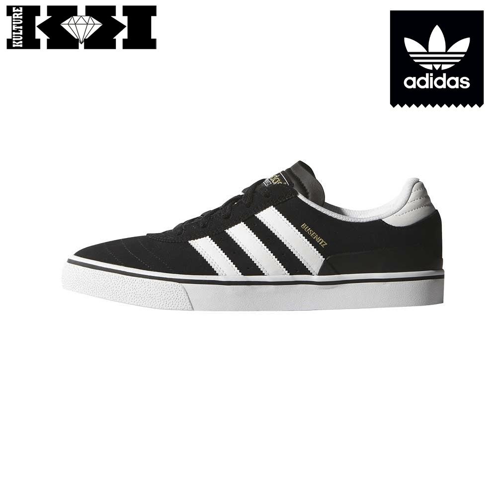 Black White Adidas Vulc Busenitz Zapatillas 0wNXk8nOP